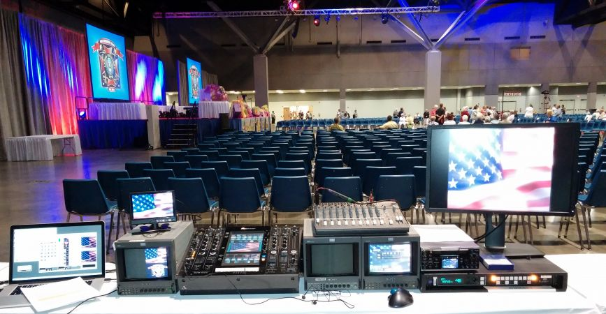 Video Production VFW Convention #321<br>4,148 x 2,154<br>Published 1 year ago